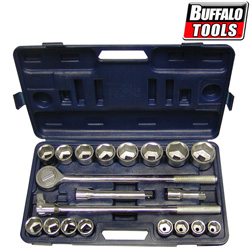 21pc 3/4in Socket Set&nbsp;&nbsp;Model#&nbsp;3422C