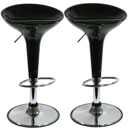 2 Pack 30 Inch Stools  Model# BS103BLKSET