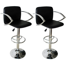 2 Pack of 30 Inch Adjustable Bar Stools  Model# BS1061BSET