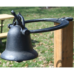 Cast Iron Farm Bell&nbsp;&nbsp;Model#&nbsp;CIFBELL