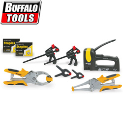 7 Piece Clamp & Staple Gun Kit  Model# CSGK7
