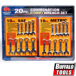 20 Piece Stubby Wrench Set  Model# CW20SET