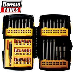 41 Piece Driver Bit Set with Quick Change Connector&nbsp;&nbsp;Model#&nbsp;DBS41PRO