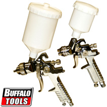 2 Piece Gravity Fed Spray Gun Kit&nbsp;&nbsp;Model#&nbsp;HVLPK2