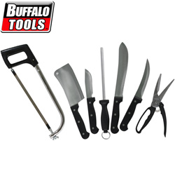 10 Piece Meat Processing Knives&nbsp;&nbsp;Model#&nbsp;MPKS10