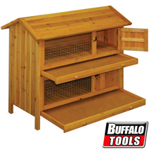 2 Story Premium Pet Hutch  Model# PPHUTCH2