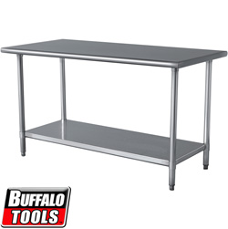 24x49 SS Work Table  Model# SSWTABLE