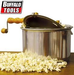 Popcorn Popper with Hand Crank  Model# STPOP
