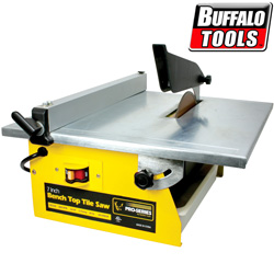 7 Inch Bench Top Tile Saw&nbsp;&nbsp;Model#&nbsp;TCUT7UL
