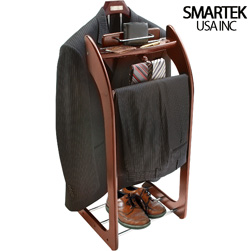Mahogany Clothes Valet Stand  Model# ST-90