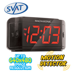 Alarm Clock DVR with Spy Cam&nbsp;&nbsp;Model#&nbsp;PI300-SD