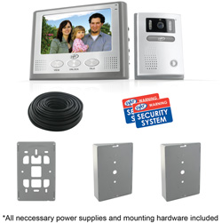 7 Inch LCD Video Intercom System  Model# VIS300-7M2