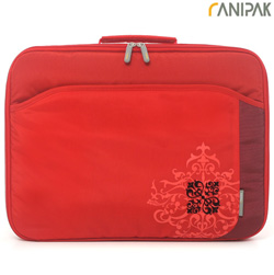 Laptop Sleeve Nylon / Bonded PU  Model# S0135RD-DE