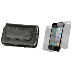 Premium Leather Horizontal Case  Model# IP3G-BH