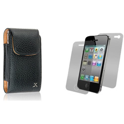 Premium Leather Vertical Case  Model# IP3G-BV
