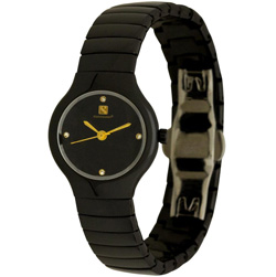 Orbital Collection Ceramic Swiss Watch Reentry Black - Women's&nbsp;&nbsp;Model#&nbsp;CW531LL