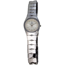 Orbital Collection Tungsten Steel Silver - Women's  Model# SW525SL