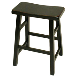 Saddle Stool - Black&nbsp;&nbsp;Model#&nbsp;00108