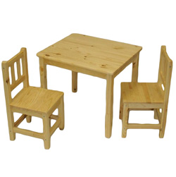3 Piece Kids Table and Chairs  Model# 00104