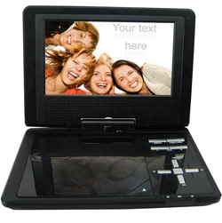 7 Inch Portable DVD Player  Model# 760PDVX BU