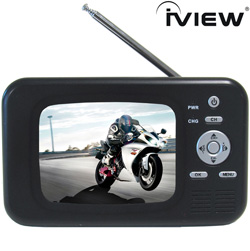 3.5 Inch Portable TV  Model# 368PTV