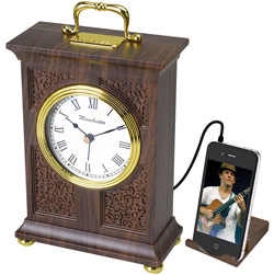 Nostalgia Clock with MP3/iPod Digital Radio and Alarm  Model# RC400