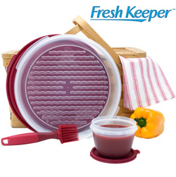 5 Piece Fresh Keeper� Marinate/Grilling Set  Model# 79902