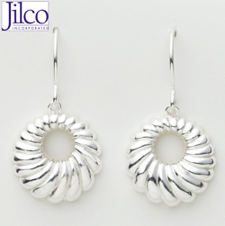 Scalloped Earrings&nbsp;&nbsp;Model#&nbsp;JE640