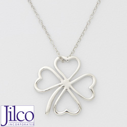 Four Leaf Clover Necklace&nbsp;&nbsp;Model#&nbsp;JN942