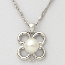 Pearl Flower Necklace  Model# JN977