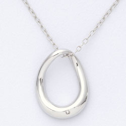 Diamond Freeform Necklace  Model# JN484