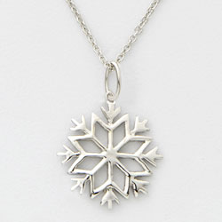 Snowflake Necklace  Model# JN941