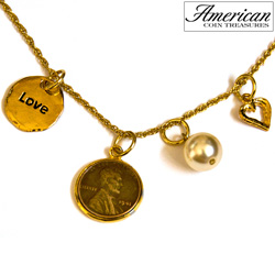 Love & Charms Lincoln Penny Pendant  Model# 362