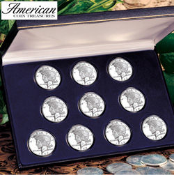 Peace Silver Dollar Collection  Model# 1069