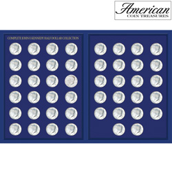 JFK Half Dollar Collection in Deluxe Portfolio&nbsp;&nbsp;Model#&nbsp;10045