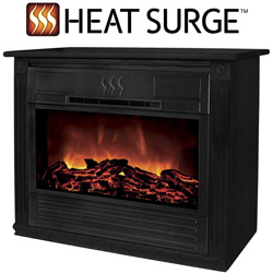 Roll-N-Glow Electric Fireplace  Model# HSRBMRG