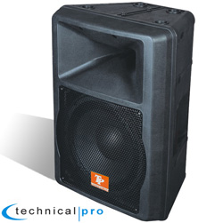 ABS Molded 12'' Two Way Powered Loudspeaker  Model# Prox12