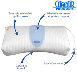 Contour Anti Snore Pillow&nbsp;&nbsp;Model#&nbsp;09-100-DS-543