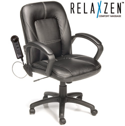Mid-Back Office Chair with Massage&nbsp;&nbsp;Model#&nbsp;60-6212