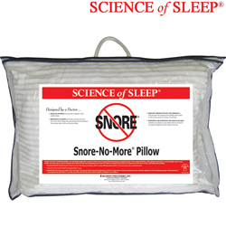 SnoreNoMore Pillow&nbsp;&nbsp;Model#&nbsp;SS62301