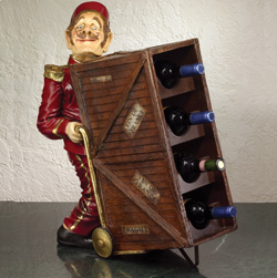 Bell Hop Wine Rack  Model# 1085