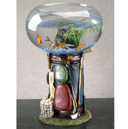 Golf Bag Aquarium&nbsp;&nbsp;Model#&nbsp;1242
