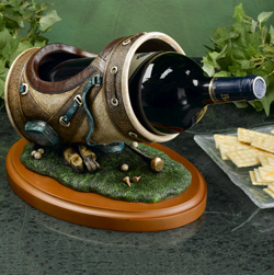 Ceramic Wine Bottle Holder  Model# 1099