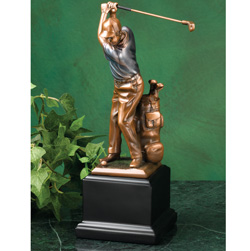 Swinging Golfer Statue  Model# 77869