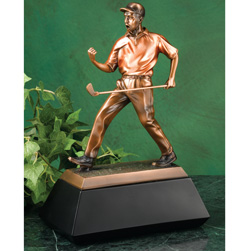 Bronze Golf Statue&nbsp;&nbsp;Model#&nbsp;77871