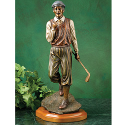 Perfect Golf Shot Statue  Model# 77872