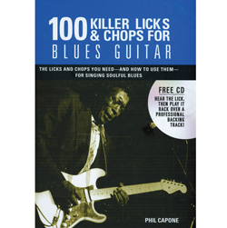 100 Killer Licks &amp; Chops Blues&nbsp;&nbsp;Model#&nbsp;AIL 8792