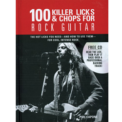 100 Killer Licks & Chops Rock  Model# AIL 8860