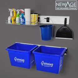 Coleman Recycling/Cleaning Wall Organizer Kit&nbsp;&nbsp;Model#&nbsp;72304
