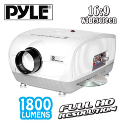 100in Video Projector with DVD  Model# PRJSD188